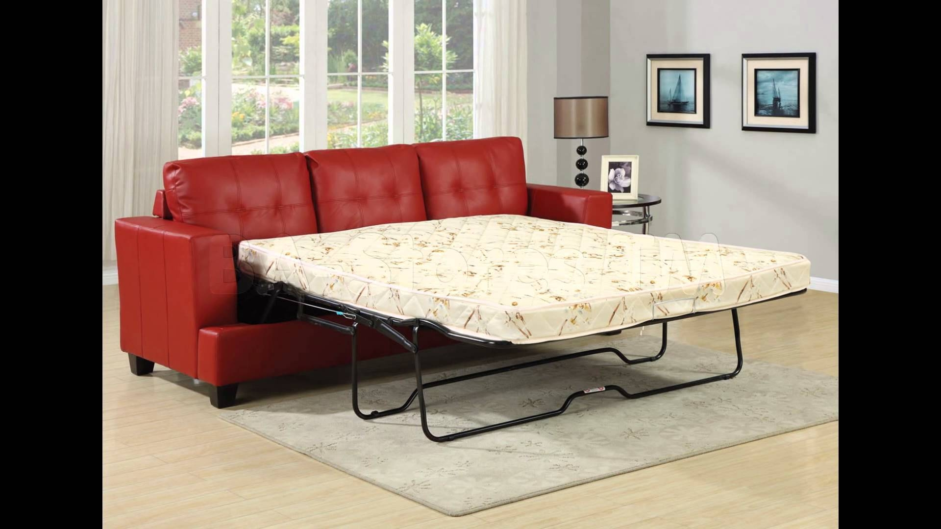 Sleeper Sofa | Sofa Sleeper | Sectional Sleeper Sofa - Youtube in Red Sleeper Sofa (Image 27 of 30)