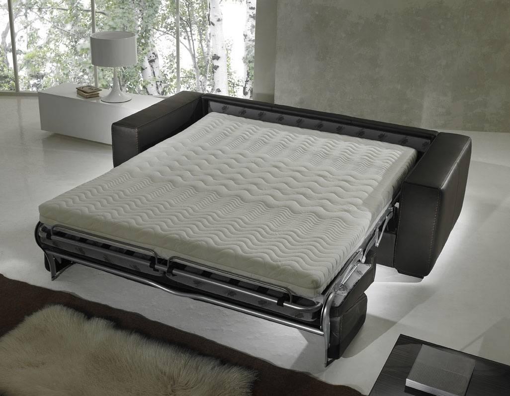 Sleeper Sofa With Tempurpedic Mattress - Tourdecarroll within King Size Sleeper Sofa Sectional (Image 16 of 30)