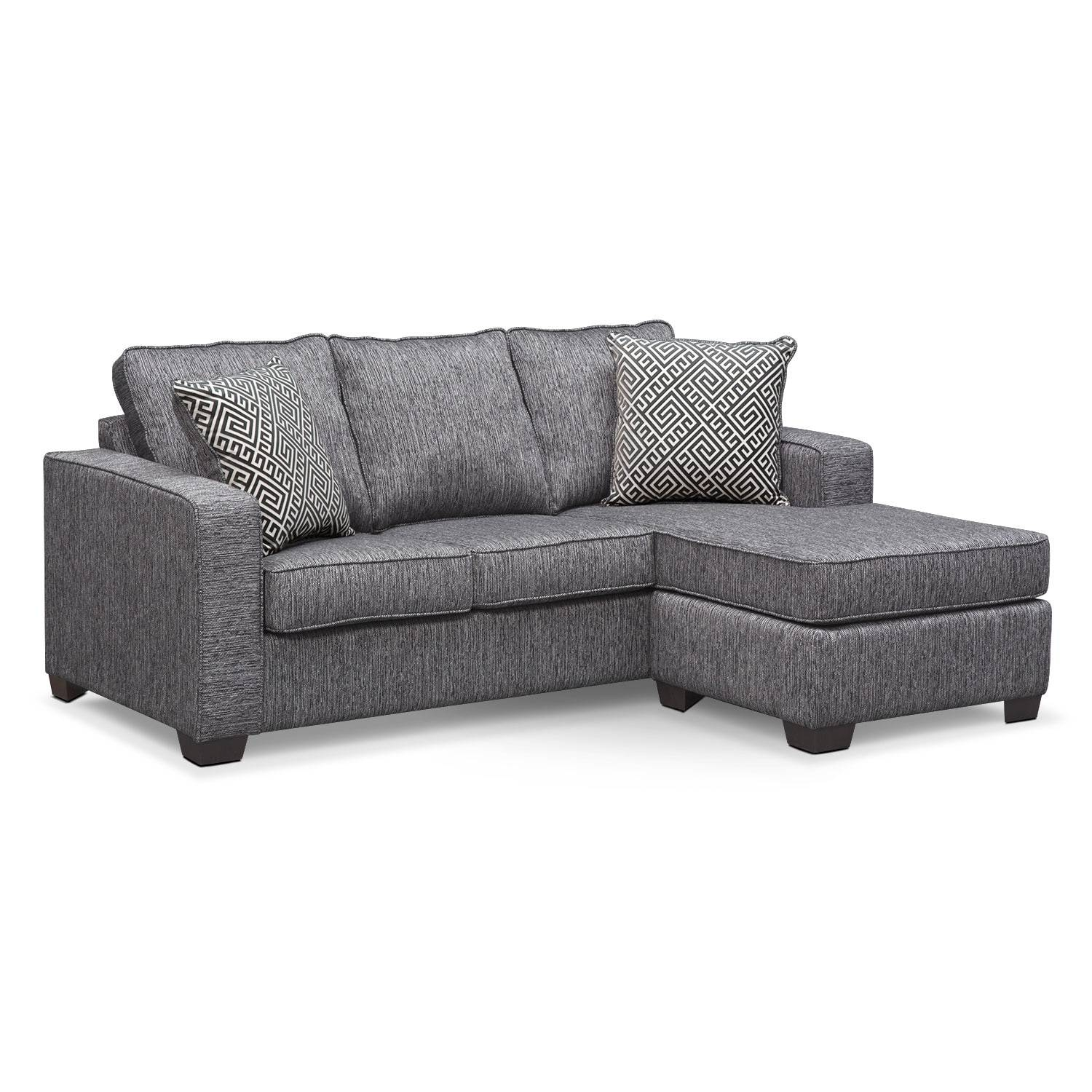 Sleeper Sofas | Value City Furniture | Value City Furniture regarding Sofas With Chaise Longue (Image 22 of 30)