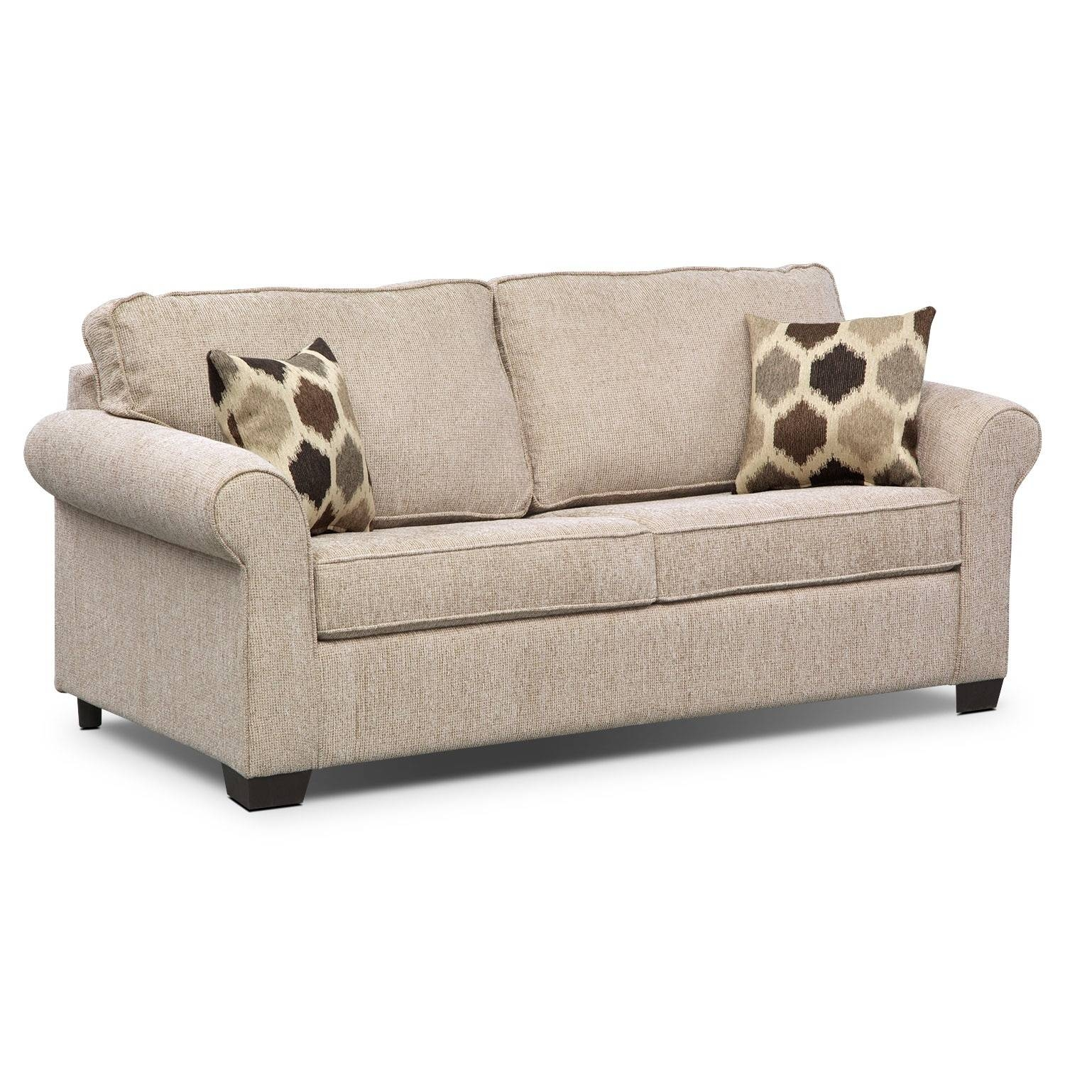 Sleeper Sofas | Value City Furniture | Value City Furniture with regard to Full Size Sofa Sleepers (Image 15 of 30)