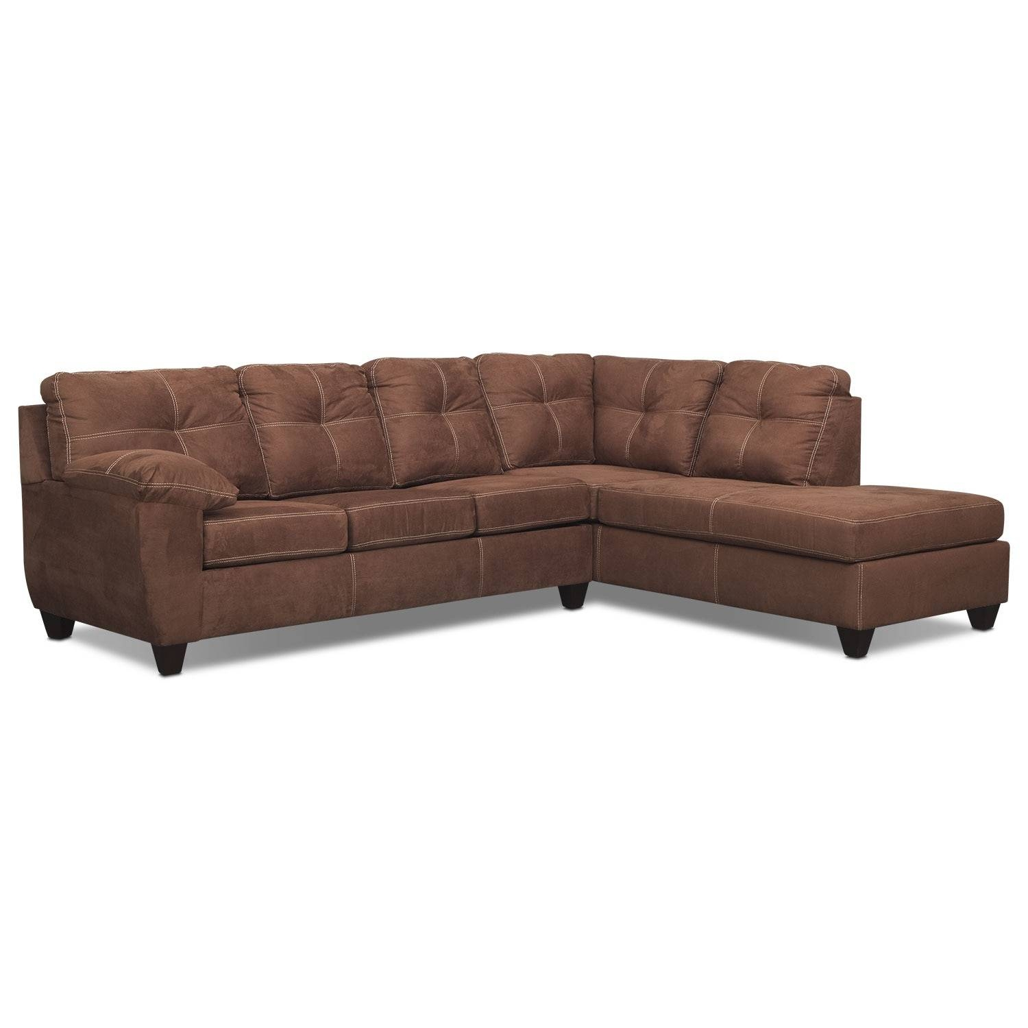 Sleeper Sofas | Value City Furniture | Value City Furniture With Regard To Sectional Sleeper Sofas With Chaise (View 18 of 30)