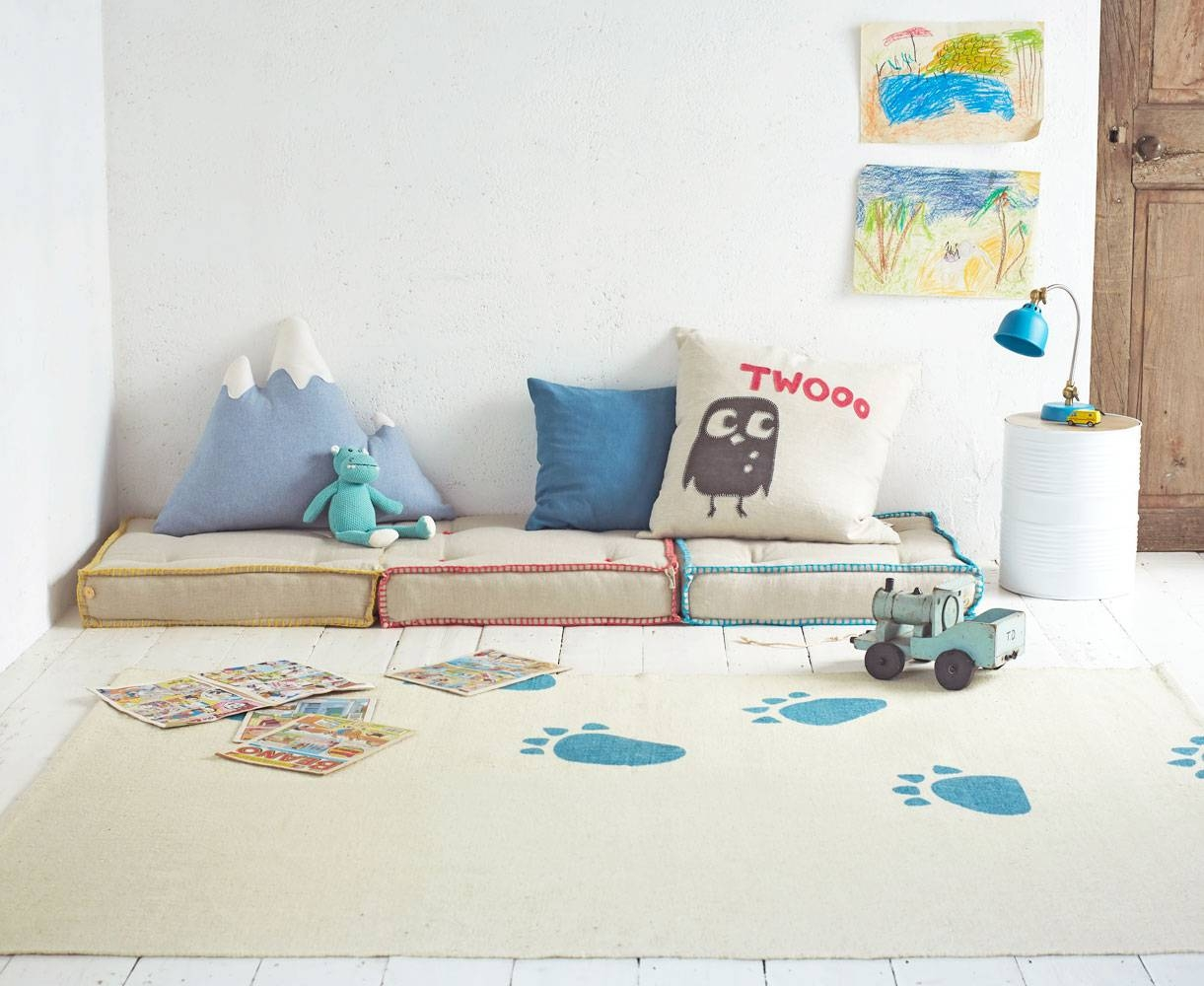 Sleepover Floor Cushion | Kids' Folding Mattress | Loaf for Floor Couch Cushions (Image 28 of 30)