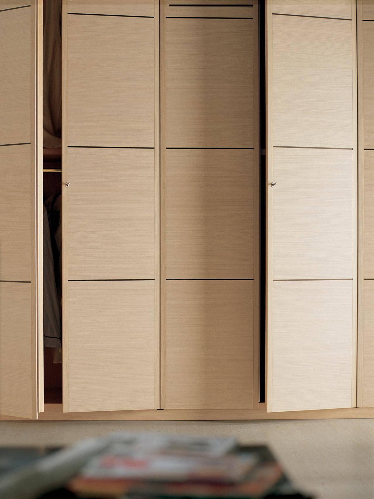 Sliding Closet Doors: Design Ideas And Options | Hgtv for Dark Wood Wardrobe Doors (Image 23 of 30)