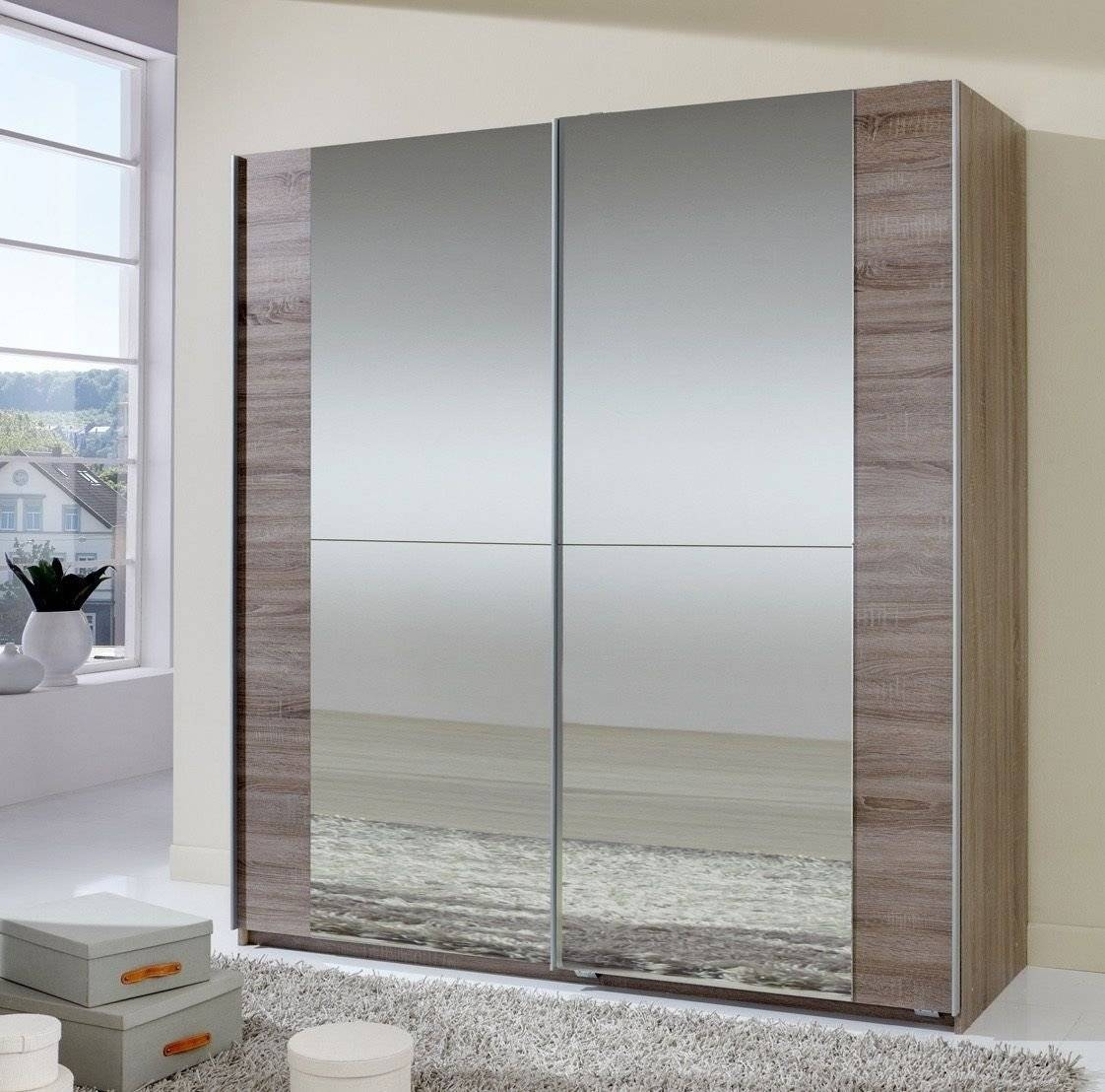 Sliding Door Wardrobes : Andre Victoire: Furniture Delivered And in Oak Mirrored Wardrobes (Image 12 of 15)