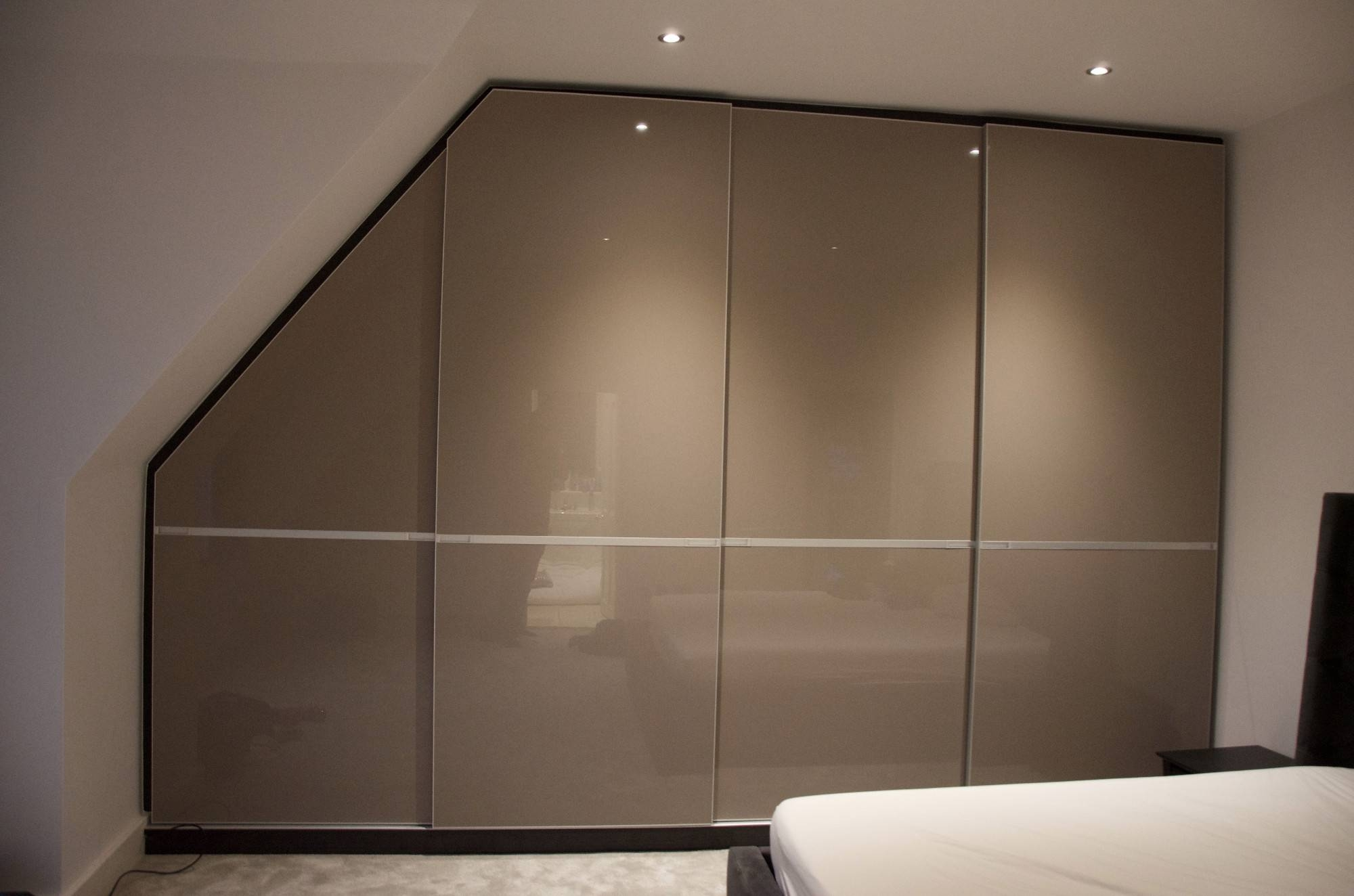 Sliding Door Wardrobes, Fitted Mirrored Solutions London throughout High Gloss Sliding Wardrobes (Image 14 of 15)