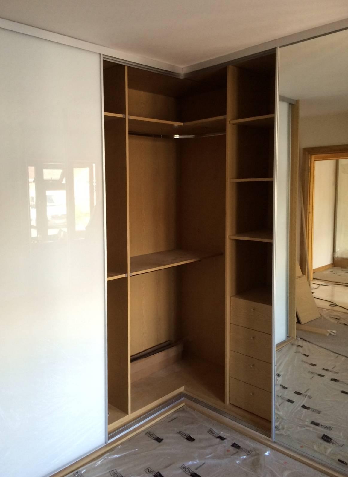 Sliding Wardrobe Doors And Wardrobe Interiors | Corner & L Shaped pertaining to Curved Wardrobe Doors (Image 19 of 30)