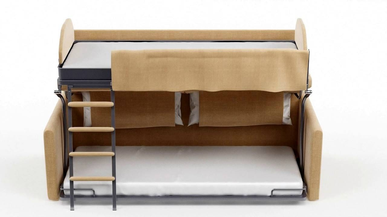 Slumbersofa Duo - Sofa Bunk Bed - Youtube intended for Sofa Bunk Beds (Image 19 of 30)