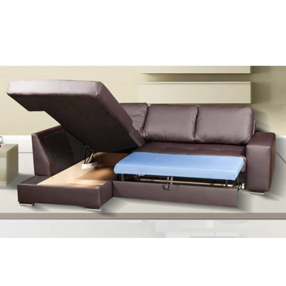 Small Corner Sofa Bed With Storage | Tehranmix Decoration for Leather Sofa Beds With Storage (Image 23 of 30)