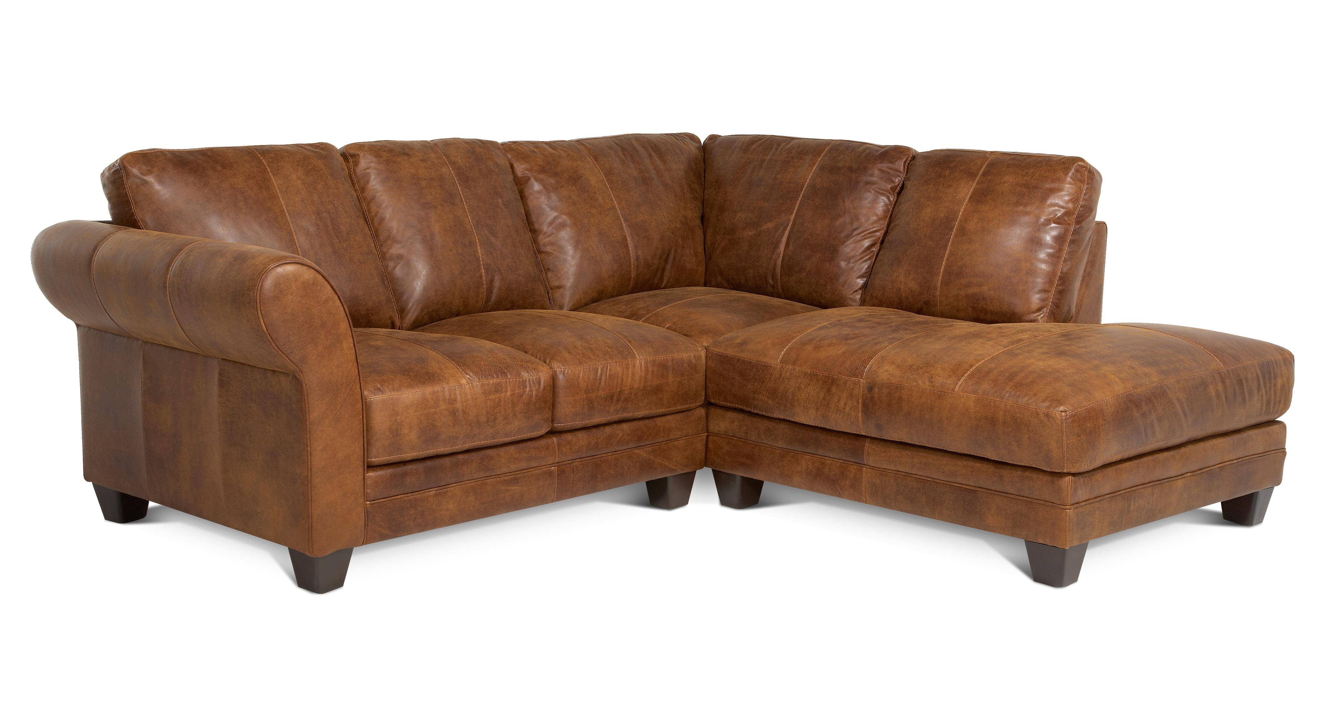 Small Corner Sofa Leather | Tehranmix Decoration Throughout Small Brown Leather Corner Sofas (View 19 of 30)
