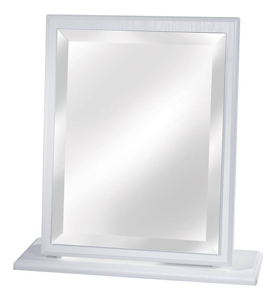 Small Dressing Table Mirror White, Cream, Oak, Beech Or Driftwood regarding Dressing Table Mirrors (Image 20 of 25)