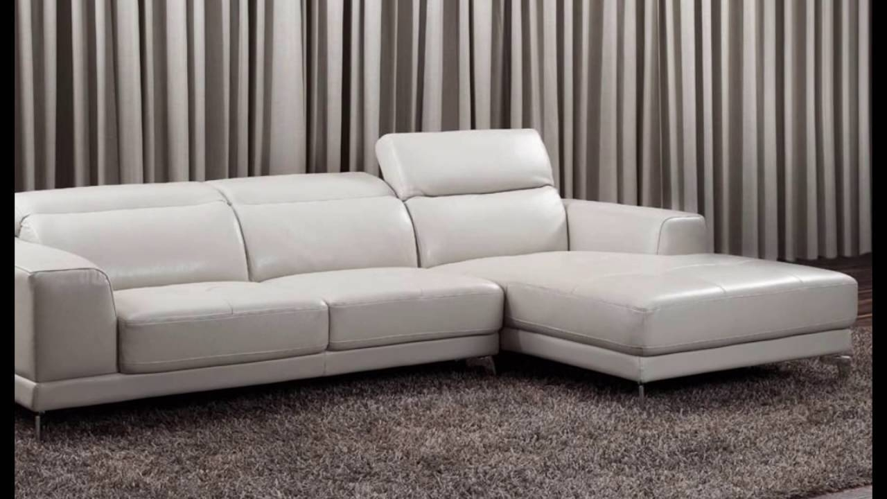 Small Leather Corner Sofas - Youtube throughout Leather Corner Sofas (Image 27 of 30)