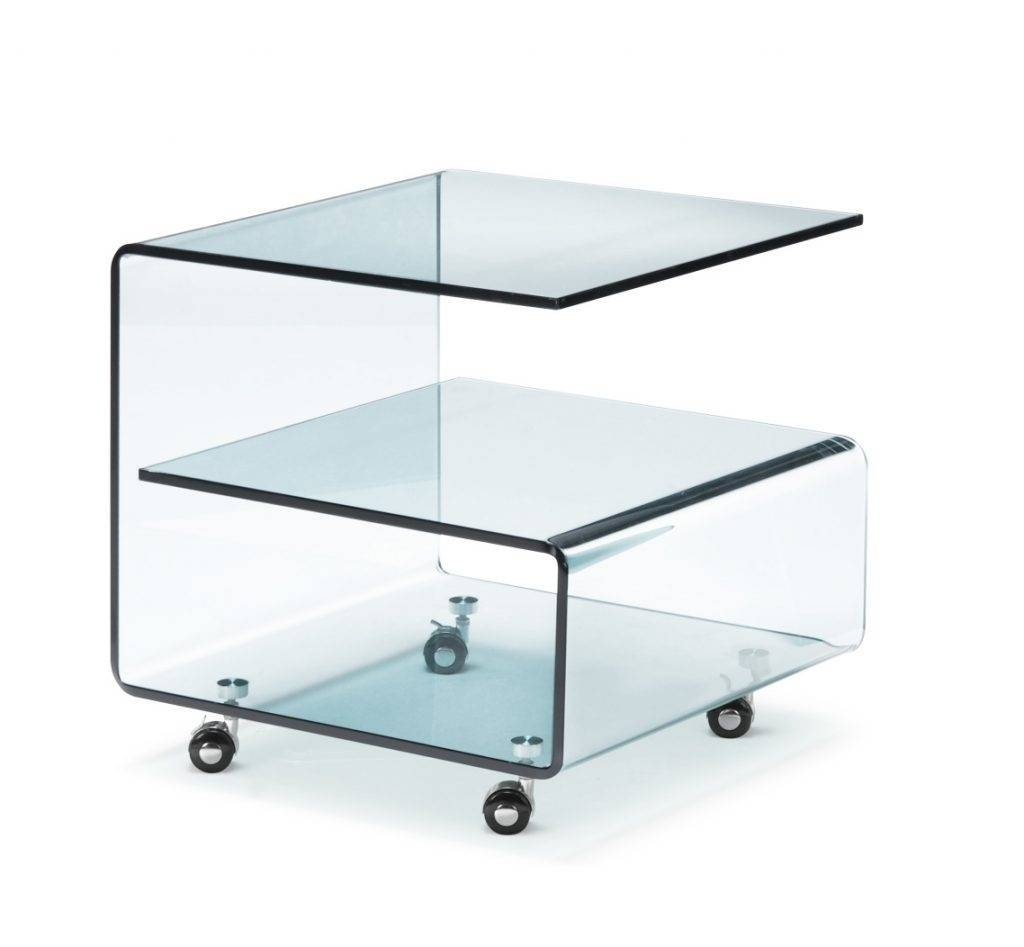 Modern Glass Coffee Table With Wheels: 30 Best Collection Of Glass Coffee Tables With Casters