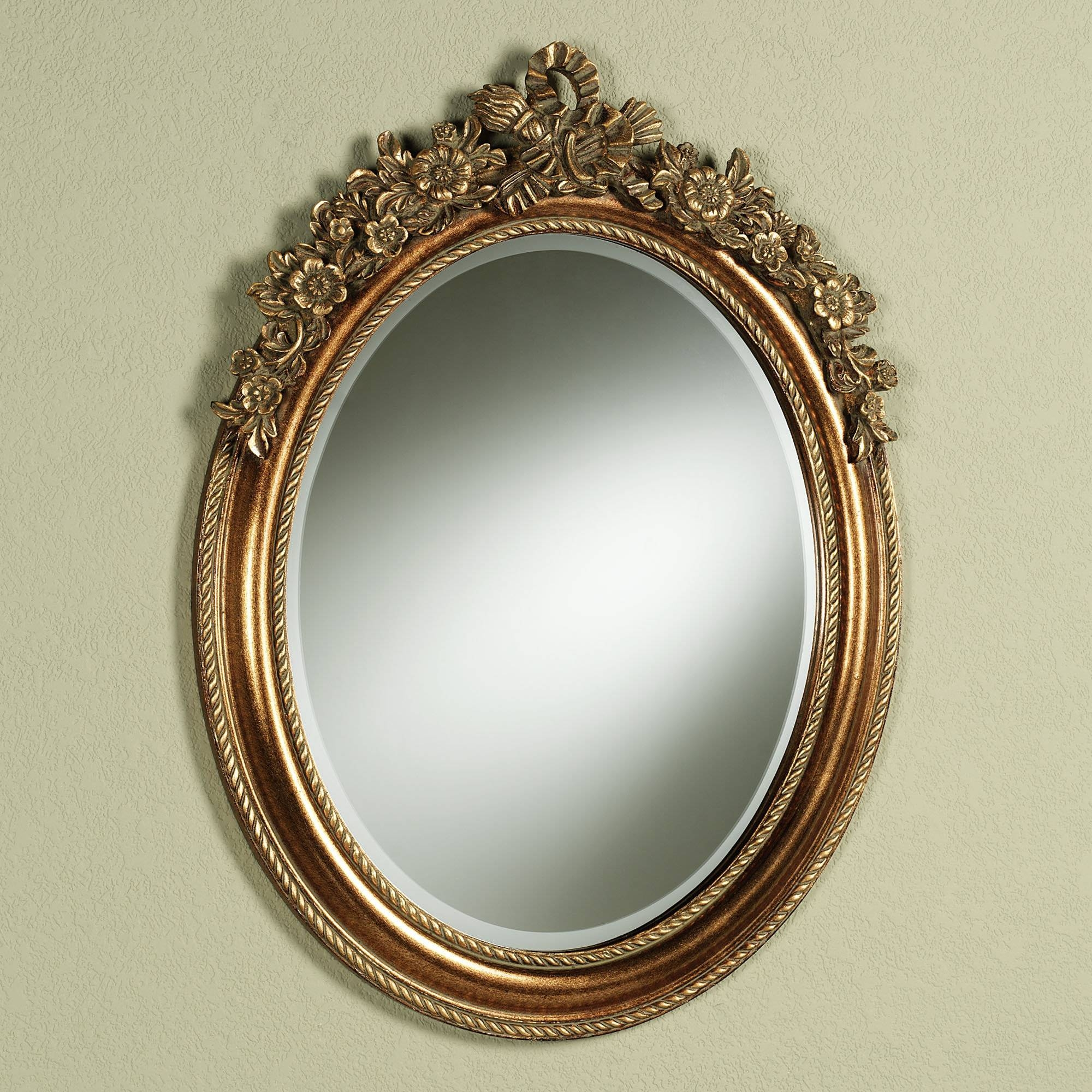 Small Oval Mirror, Large Oval Mirrors For Walls Oval Wall Mirror regarding Oval Mirrors for Walls (Image 23 of 25)