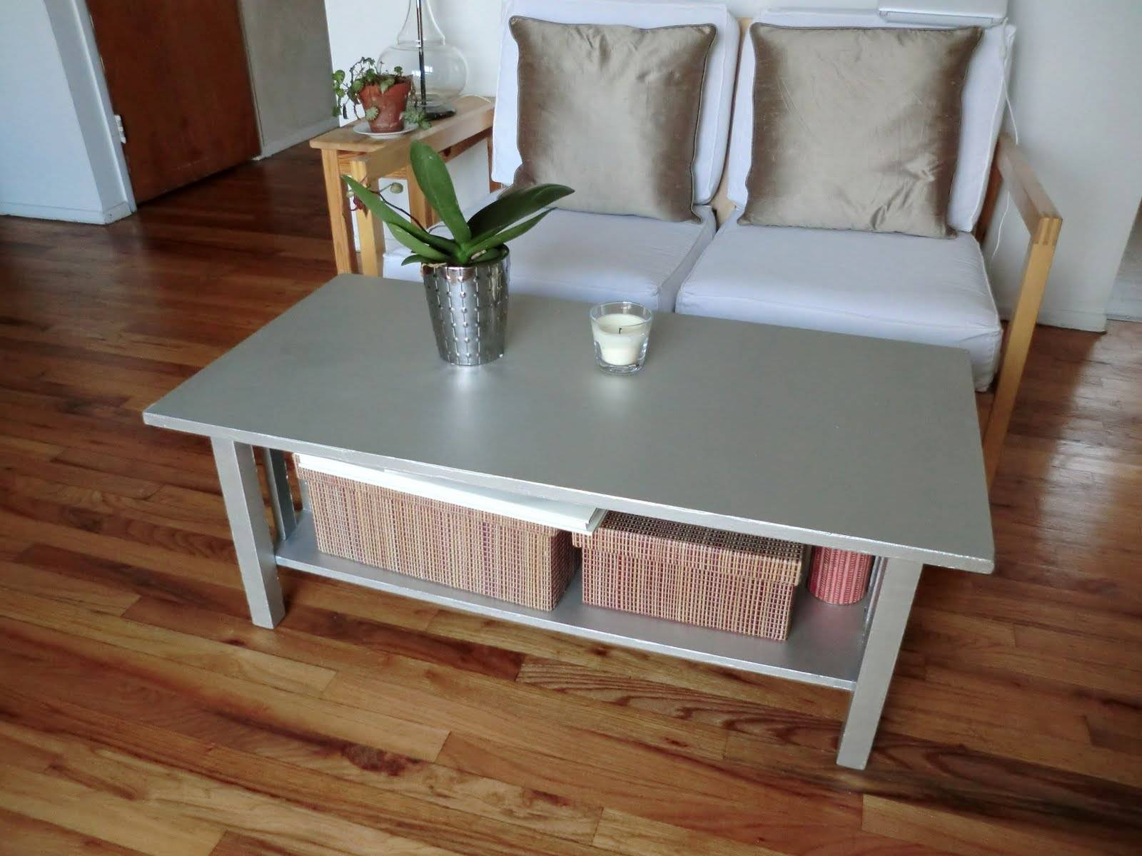 2019 Popular Hammered Silver Coffee Tables