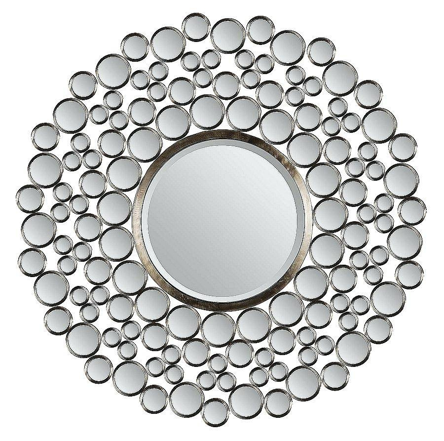 Small Round Wall Mirror Decorative Powder Room Mirror3 Piece pertaining to Small Decorative Mirrors (Image 22 of 25)