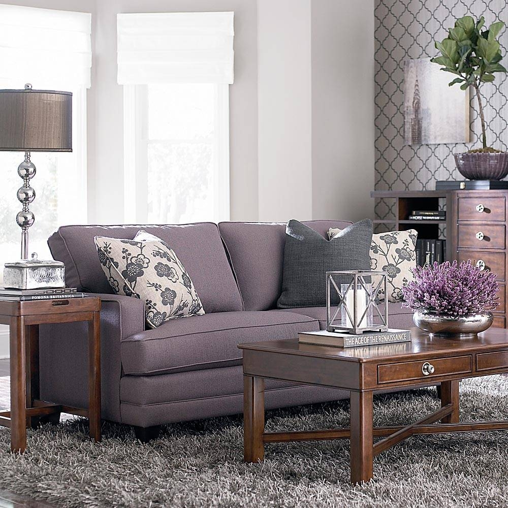 Small Sofa - Custom Upholstery | Bassett Furniture for Customized Sofas (Image 23 of 30)