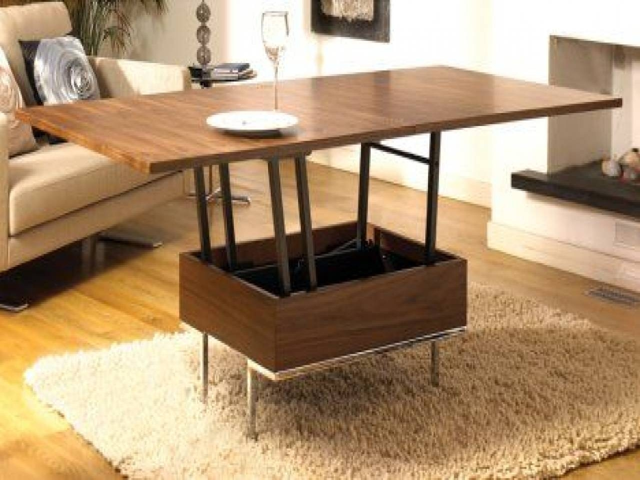 Small Space Coffee Table, Hgtv Outdoor Living Ideas Outdoor Living Regarding Coffee Table Dining Table (View 14 of 30)