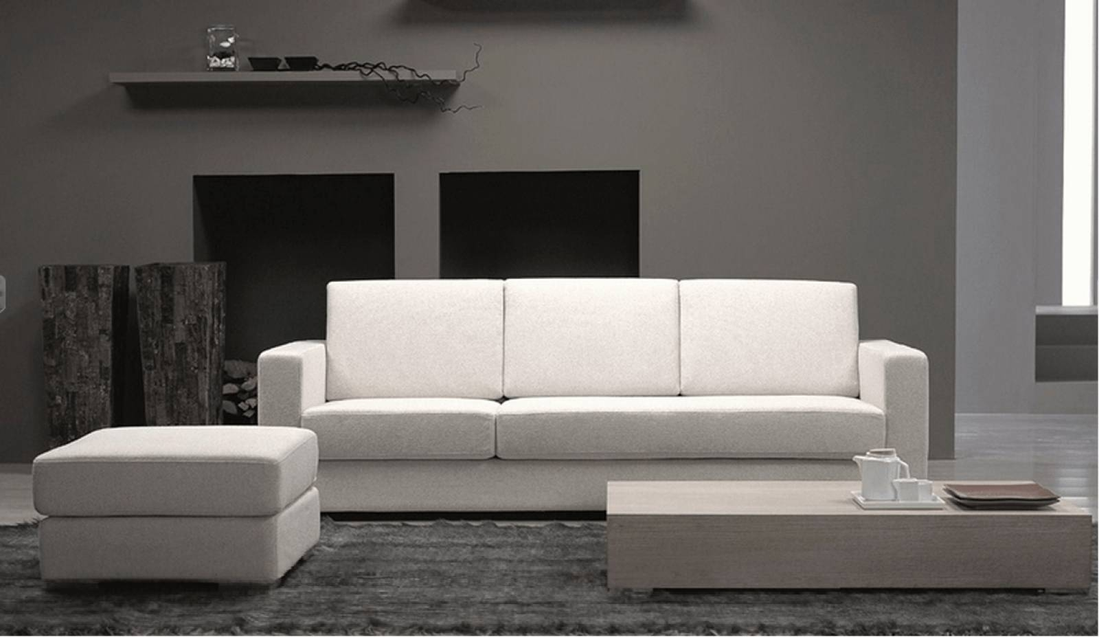 Small Space Modern Furniture, Small Curved Sofa Modern Sofas For within Armchairs For Small Spaces (Image 25 of 30)