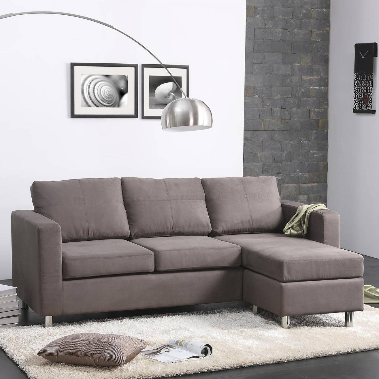 Small Spaces Configurable Sectional Sofa | Roselawnlutheran with regard to Small Sectional Sofa (Image 25 of 30)