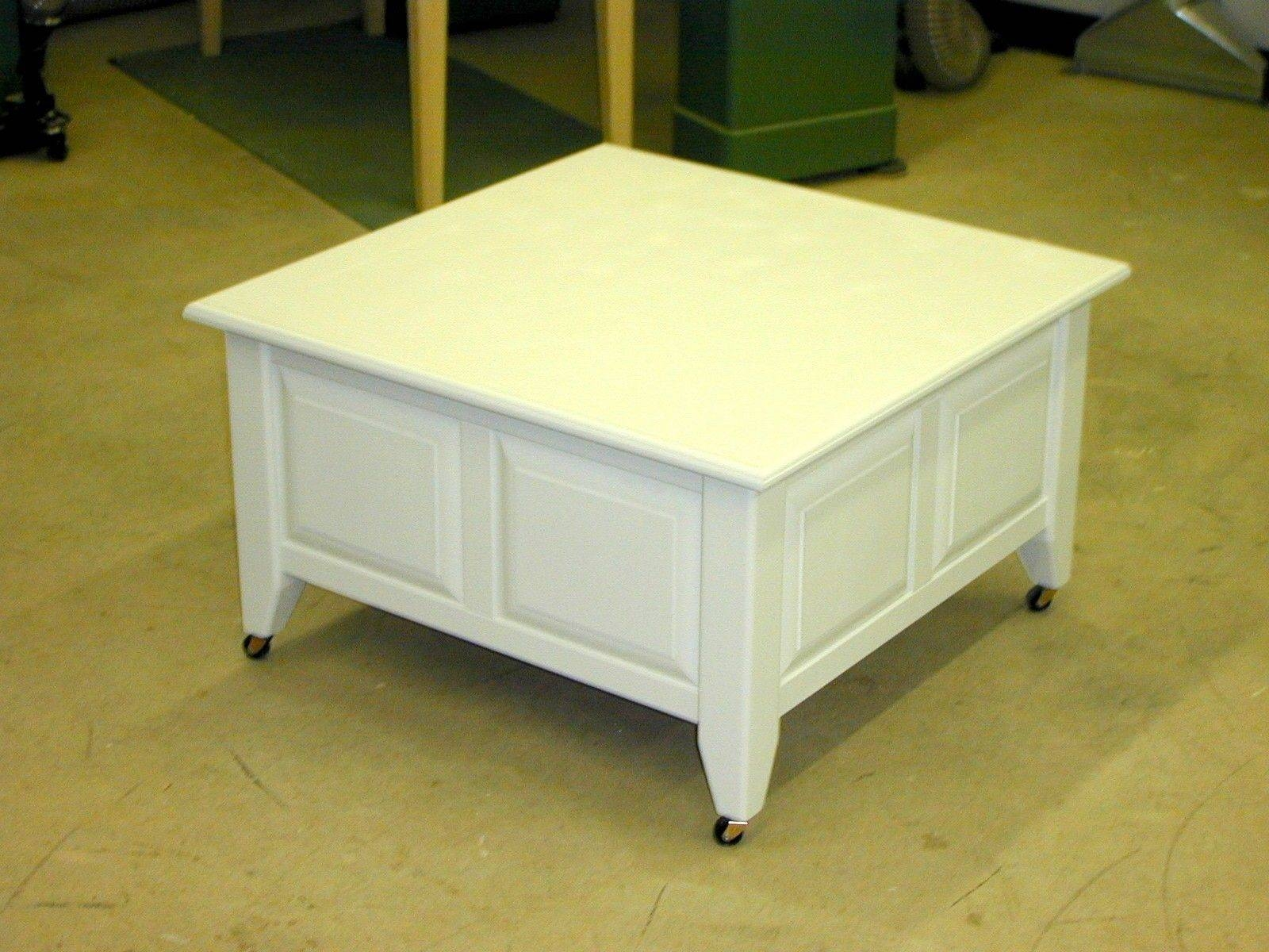 Small Square Coffee Table With Storage | Decorative Table Decoration within Square Coffee Tables With Drawers (Image 26 of 30)