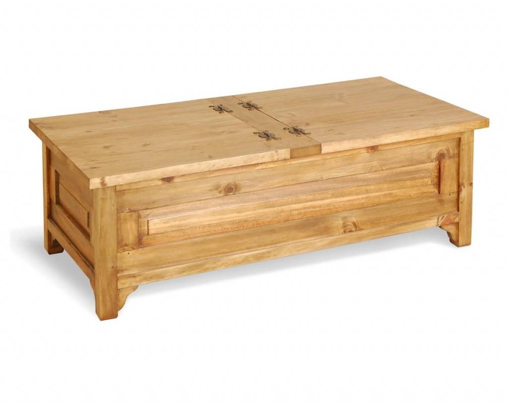 Small Trunk Coffee Table pertaining to Antique Pine Coffee Tables (Image 27 of 30)