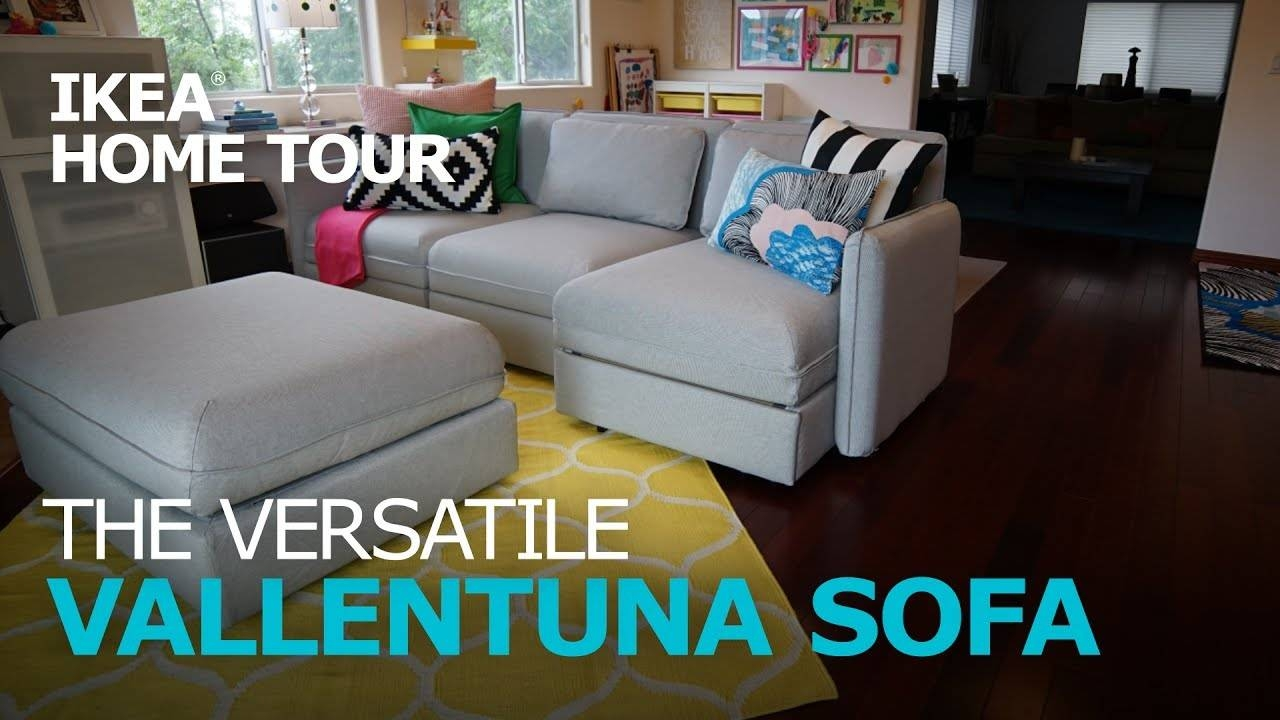 Smart And Durable Vallentuna Sectional Sofa - Ikea Home Tour - Youtube within Durable Sectional Sofa (Image 24 of 30)