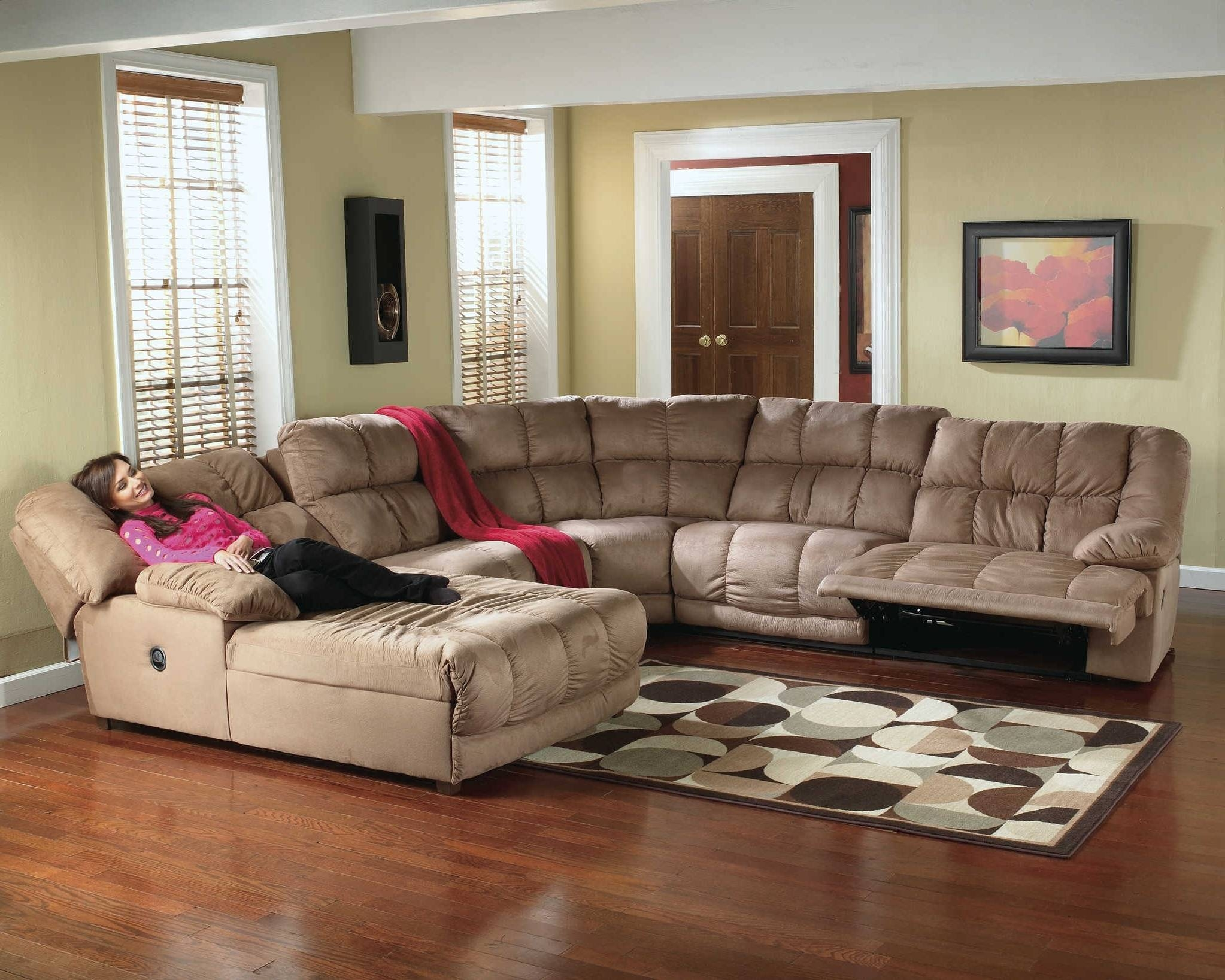 Sofa : 7 Seat Sectional Sofa Popular Home Design Creative On 7 for 7 Seat Sectional Sofa (Image 17 of 30)