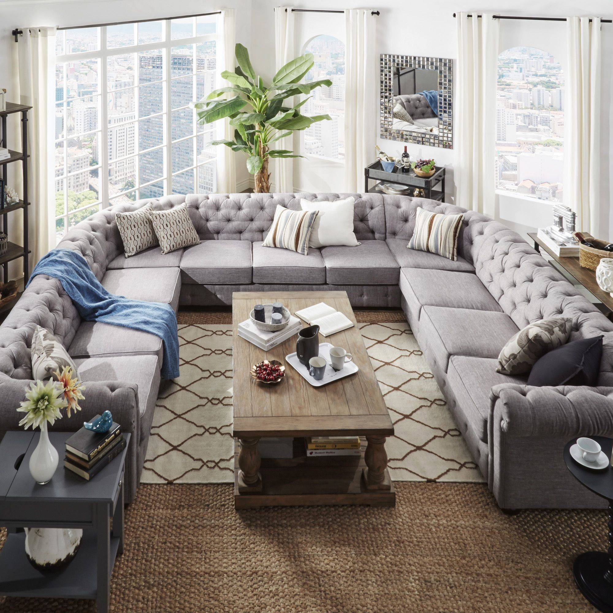 Sofa: Beautiful Overstock Sectional Sofas For Cozy Living Room intended for Cozy Sectional Sofas (Image 18 of 30)