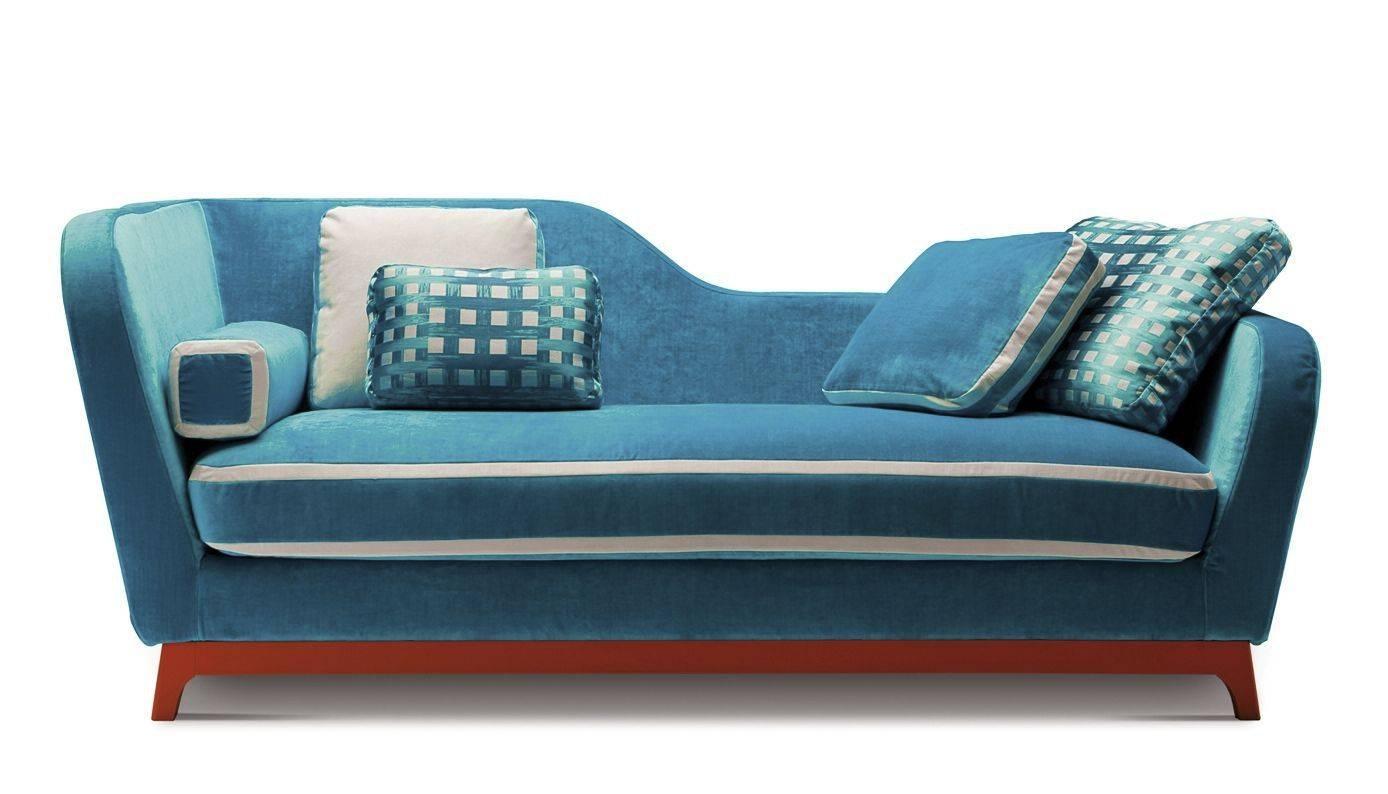 Sofa Bed / Contemporary / Fabric / 2-Seater - Jeremieeric regarding Aqua Sofa Beds (Image 27 of 30)