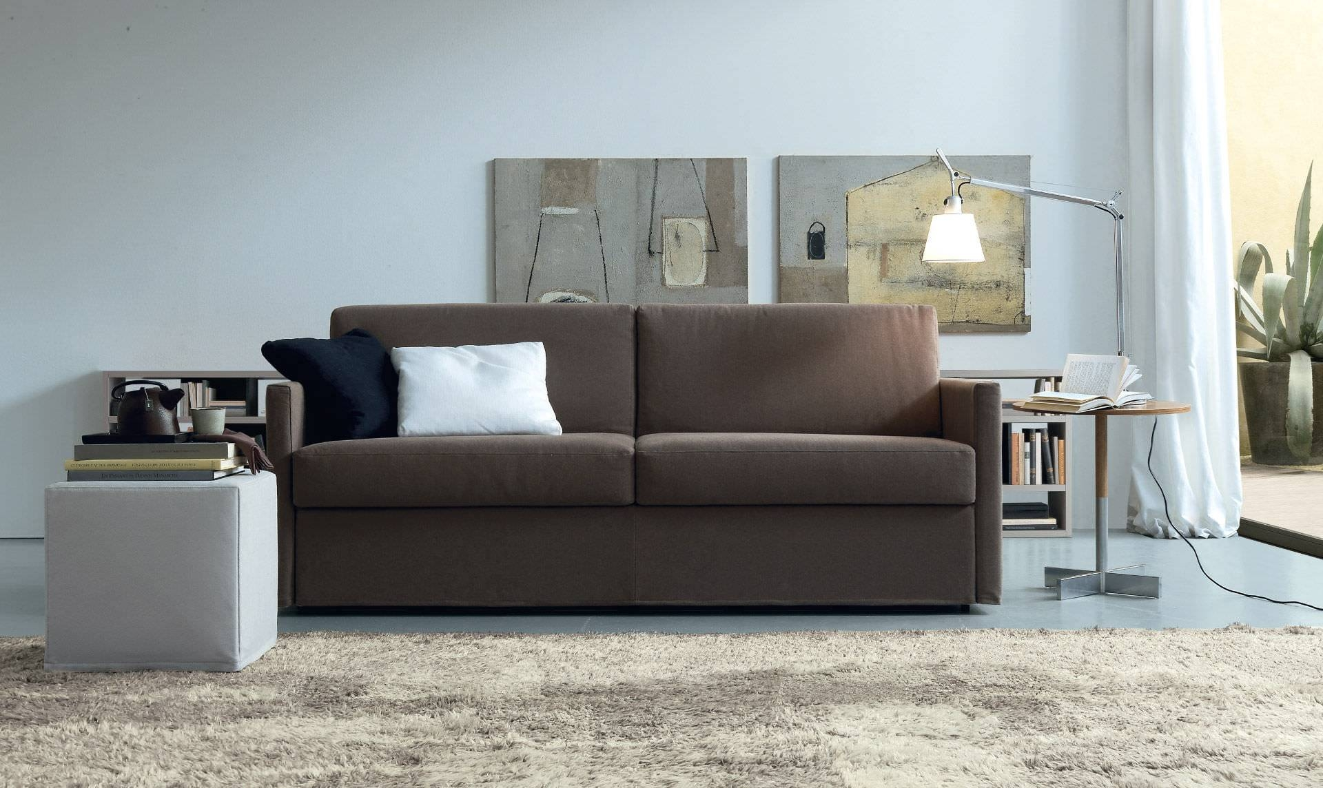 Sofa Bed / Contemporary / Fabric / 2-Seater - Luis - Jesse for Contemporary Fabric Sofas (Image 28 of 30)