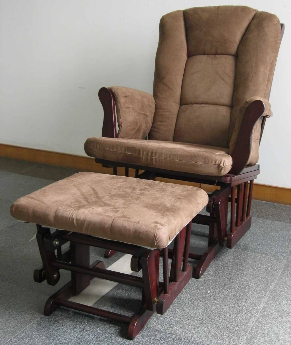 Sofa Brown Rocking Chair For Nursery | Tamingthesat throughout Sofa Rocking Chairs (Image 21 of 30)