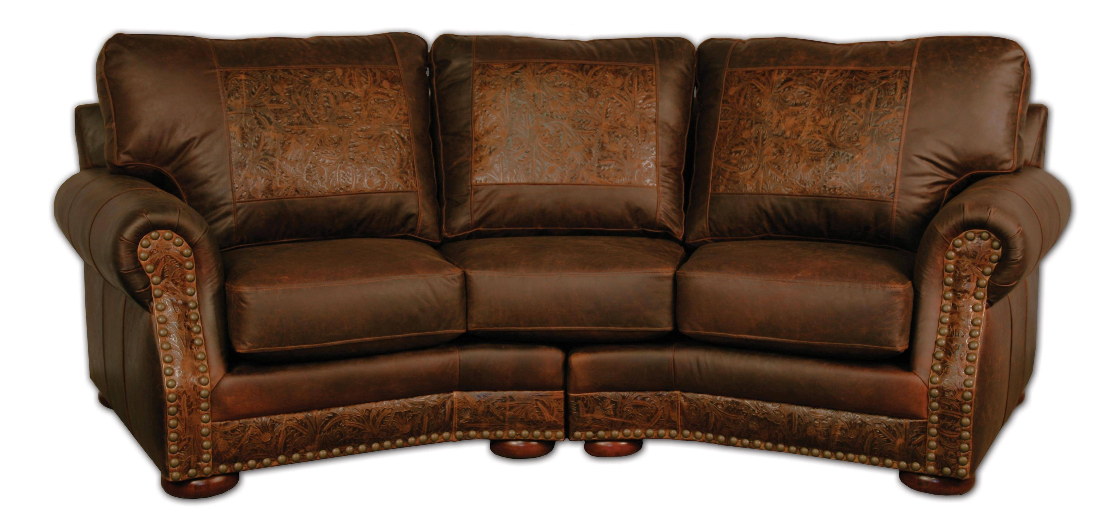 Conversational Sofas Leather Best Leather Furniture Atlanta 25