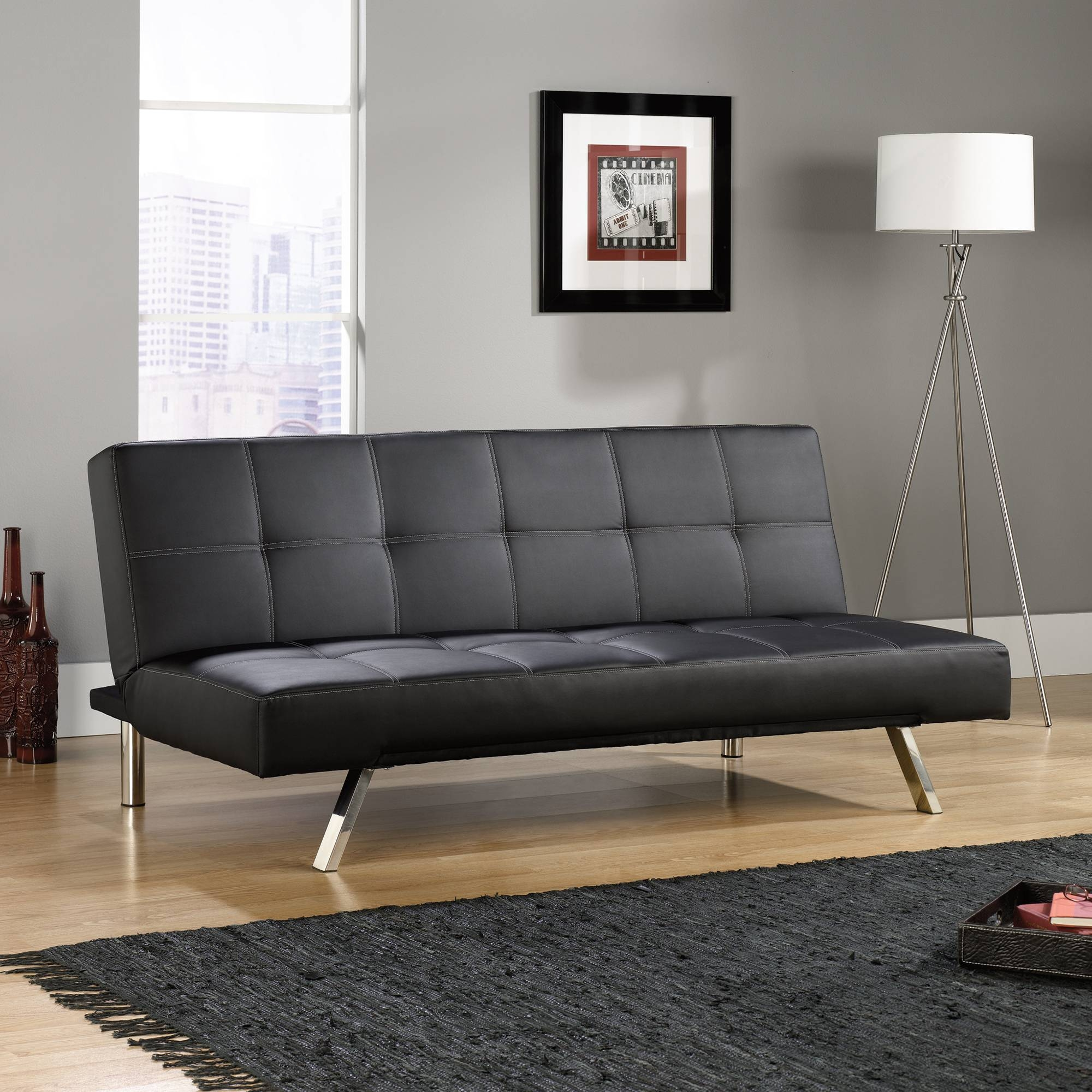 Sofa Convertible | Crash Sofa Convertible | 415078 | Sauder intended for Sofa Convertibles (Image 25 of 30)