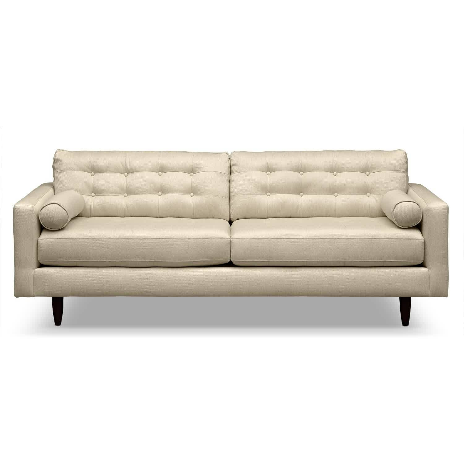 Sofa: Cool Couches For Provides A Warm To Comfortable Feel And Low In Cheap Tufted Sofas (View 9 of 30)