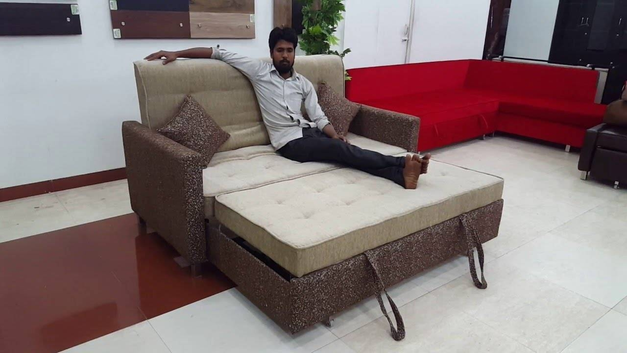 Sofa Cum Beds, L-Shape Sofa Cum Bed, Luxury Sofas - Youtube with L Shaped Sofa Bed (Image 24 of 30)