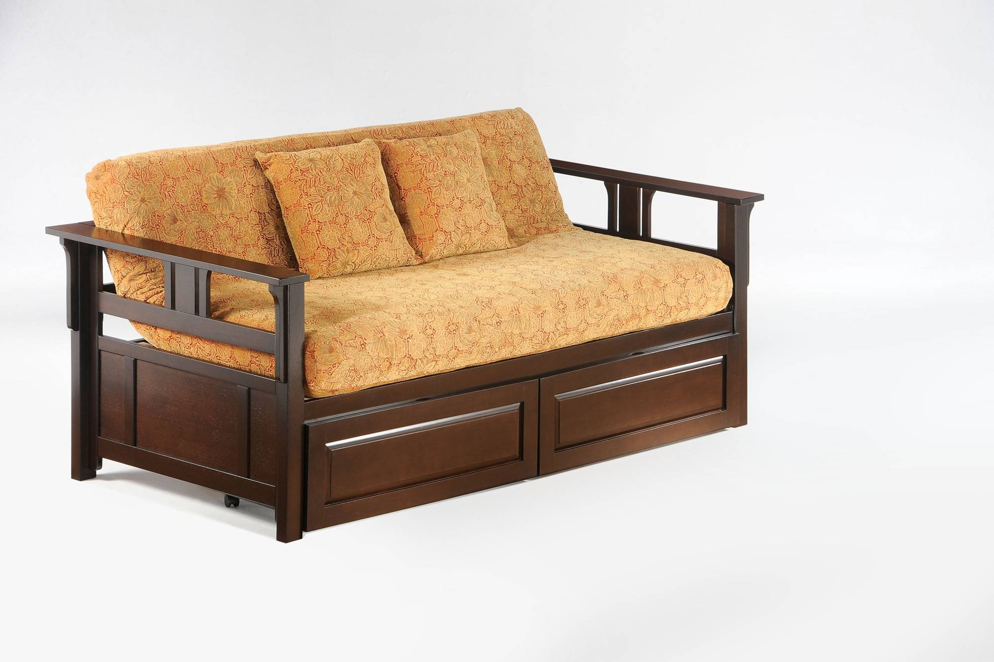 Sofa Daybed Frame With Storage Full Size Brimnes Twin Frames | Fonky pertaining to Sofa Day Beds (Image 27 of 30)