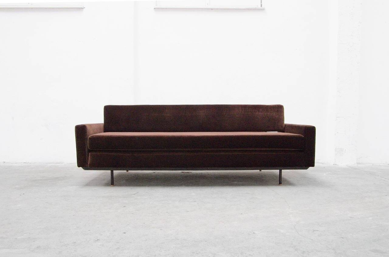 Sofa Daybedflorence Knoll International, Mid-Century Modern intended for Florence Large Sofas (Image 20 of 30)