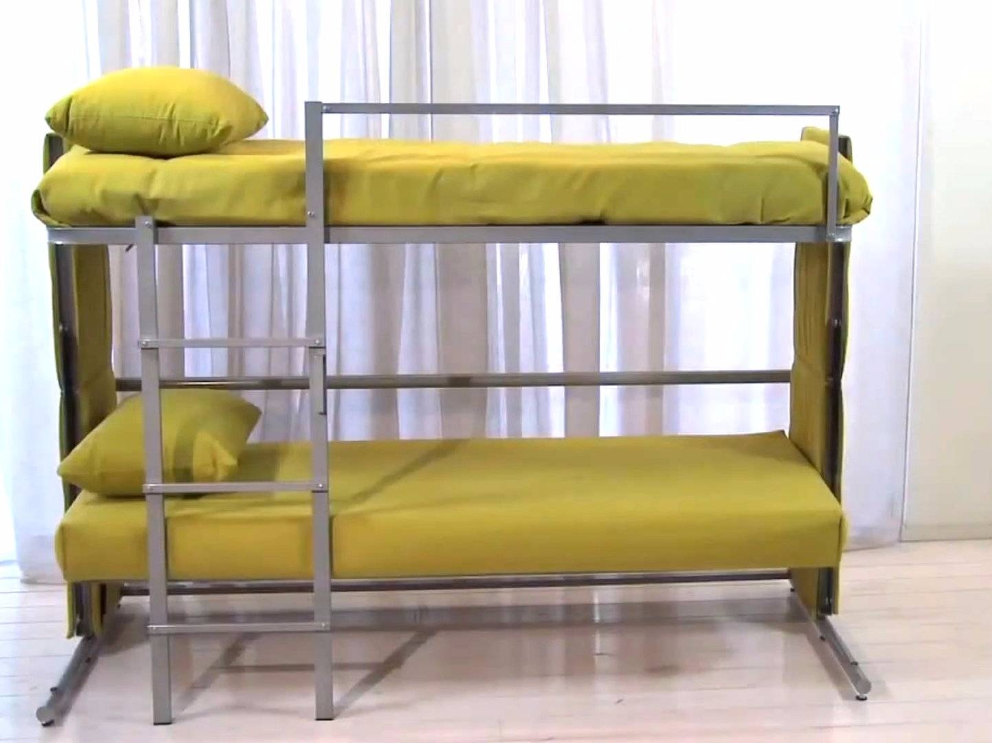 Sofa Folds Out Into A Bunk Bed - Business Insider within Sofa Bunk Beds (Image 25 of 30)