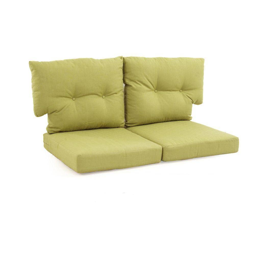 Sofa & Loveseat Cushions - Outdoor Cushions - The Home Depot with regard to Sofa Cushions (Image 28 of 30)