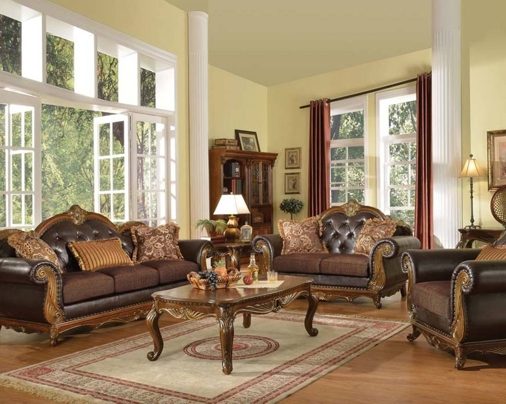 Sofa Sets Ï¿½ Fabric Sofas For Sale At Home Furniture Mart with regard to Traditional Sofas and Chairs (Image 8 of 15)
