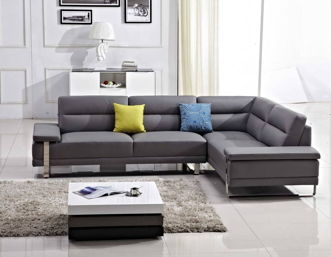 Sofa Trend Sectional - Leather Sectional Sofa regarding Sofa Trend (Image 16 of 25)