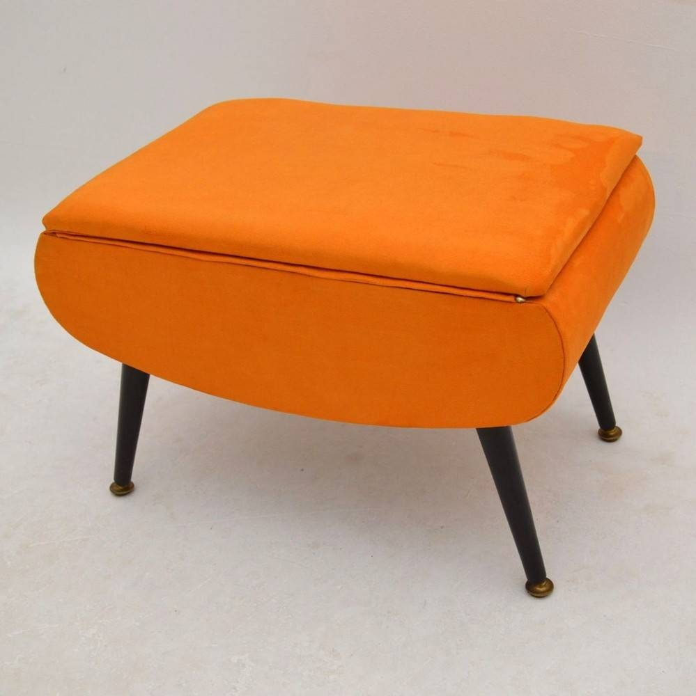 Sofa Upholstered Footstool With Storage | Gmotrilogy throughout Upholstered Footstools (Image 22 of 30)