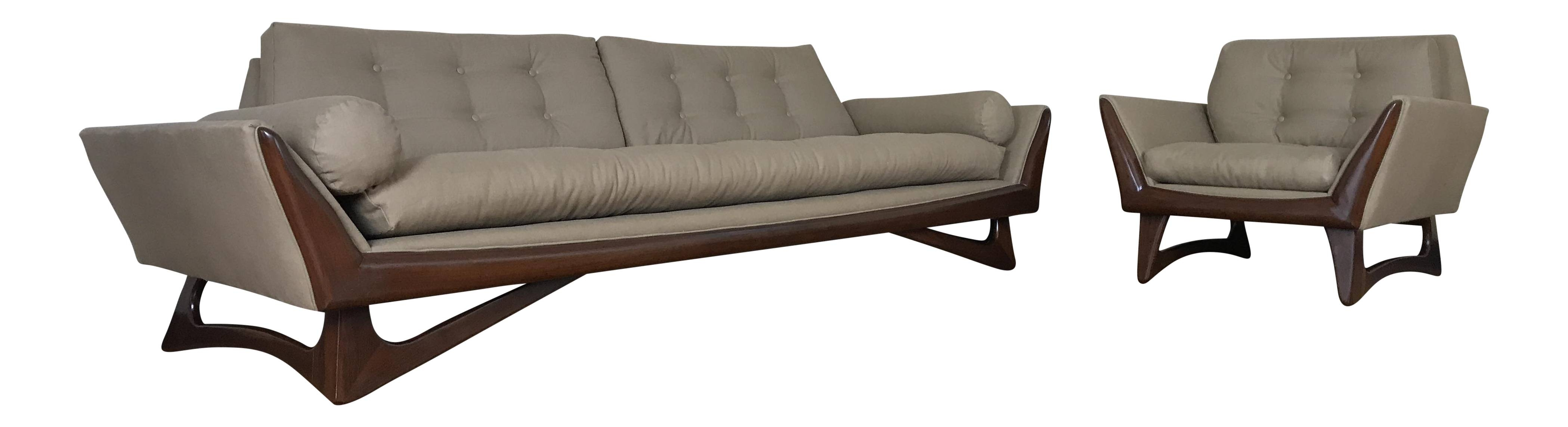 Sofas Center : Adrian Pearsall Sofa For Craft Associates Inc throughout Unusual Sofa (Image 4 of 23)