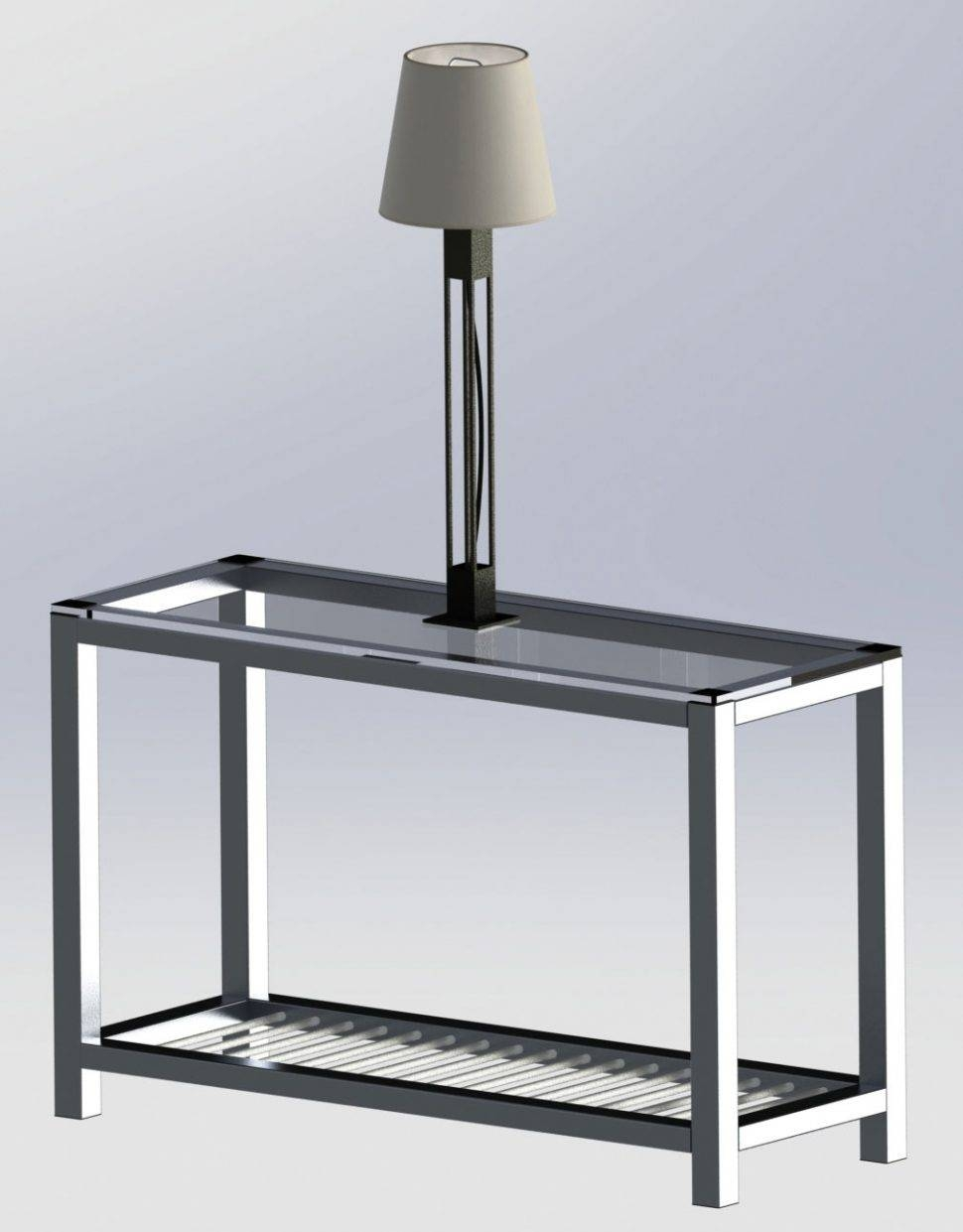 Sofas Center : Amazon Com Sei Bunching Metal End Table Kitchen with Metal Glass Sofa Tables (Image 27 of 30)