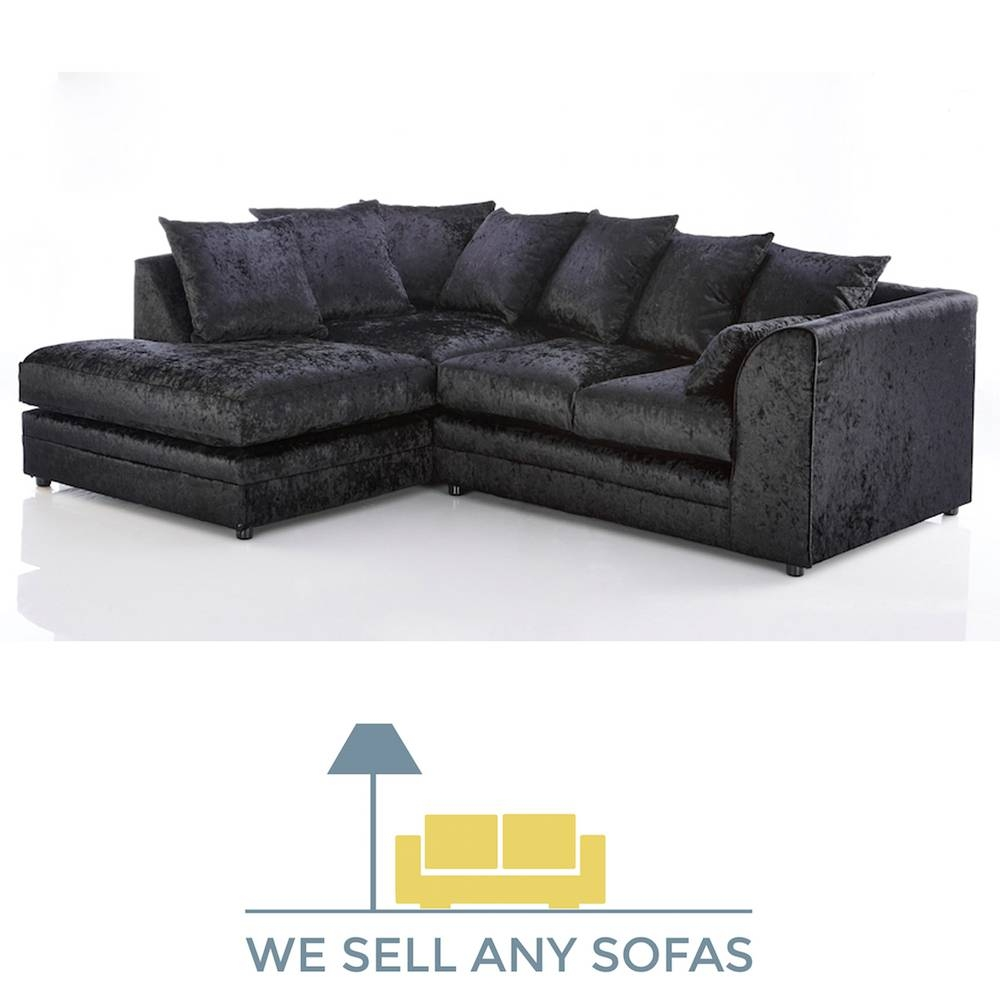 Sofas Center : Black Velvet Sofa Loveseat Sofas Cover And Couches with regard to Black Velvet Sofas (Image 20 of 30)
