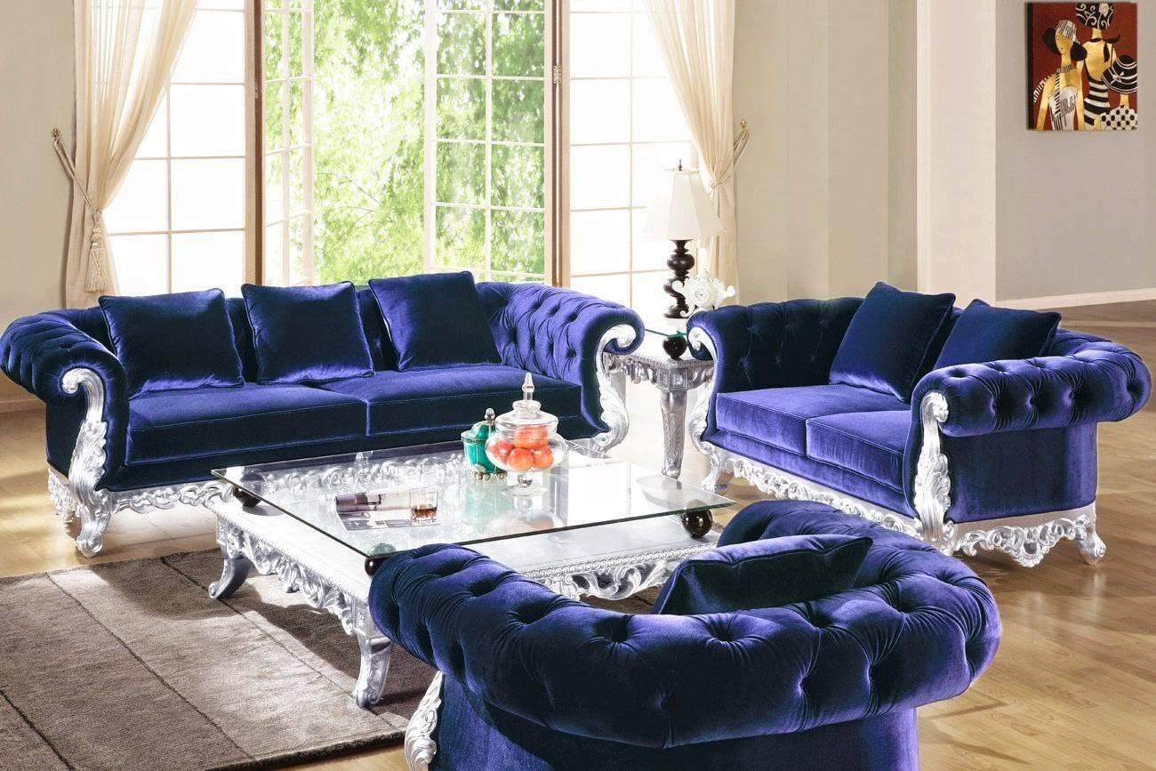 Sofas Center : Blue Tufted Sofa Navyr Sofablue Teal Sofaindigo with regard to Blue Tufted Sofas (Image 24 of 30)