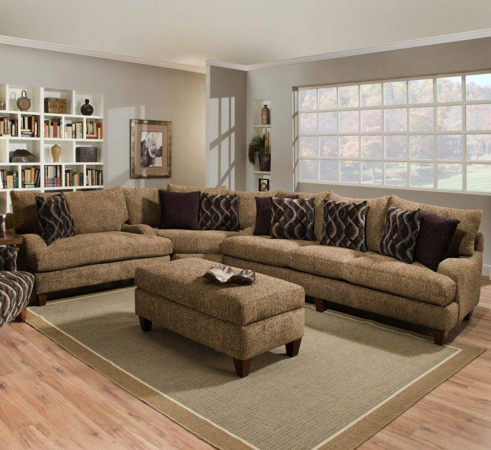 Sofas Center : Brown Leather Sectional Sofa With Chaise Decorating throughout Decorating With a Sectional Sofa (Image 27 of 30)