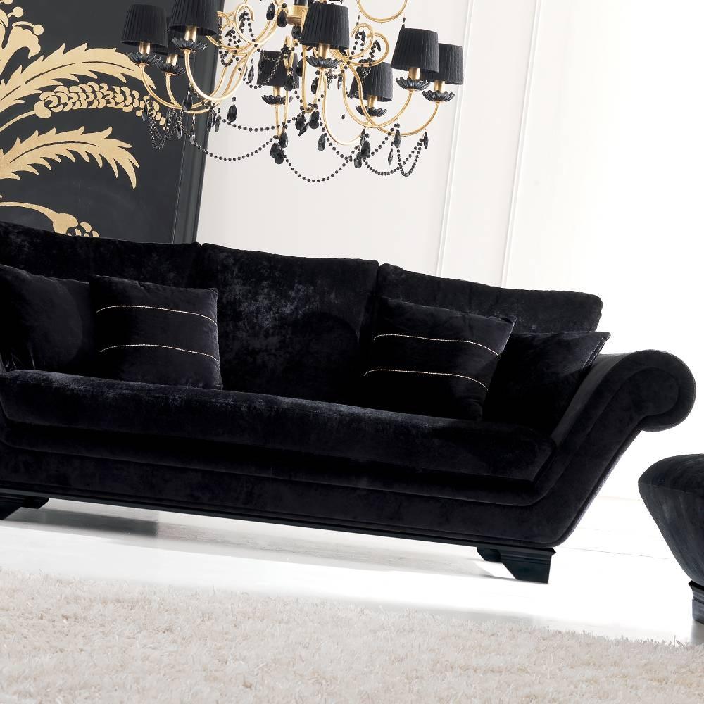 Sofas Center : Bryn Grey Velvet Sofatov Furniture Buy Online in Black Velvet Sofas (Image 25 of 30)