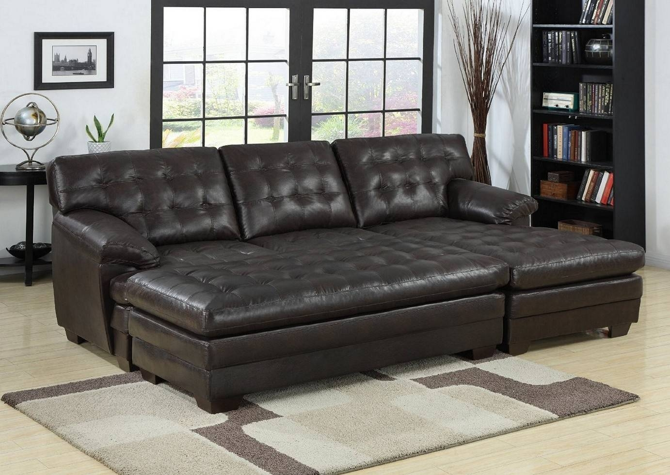 Sofas Center : Chaise Lounge Sofa With Storage Costco Beds World for Sofas With Chaise Longue (Image 27 of 30)
