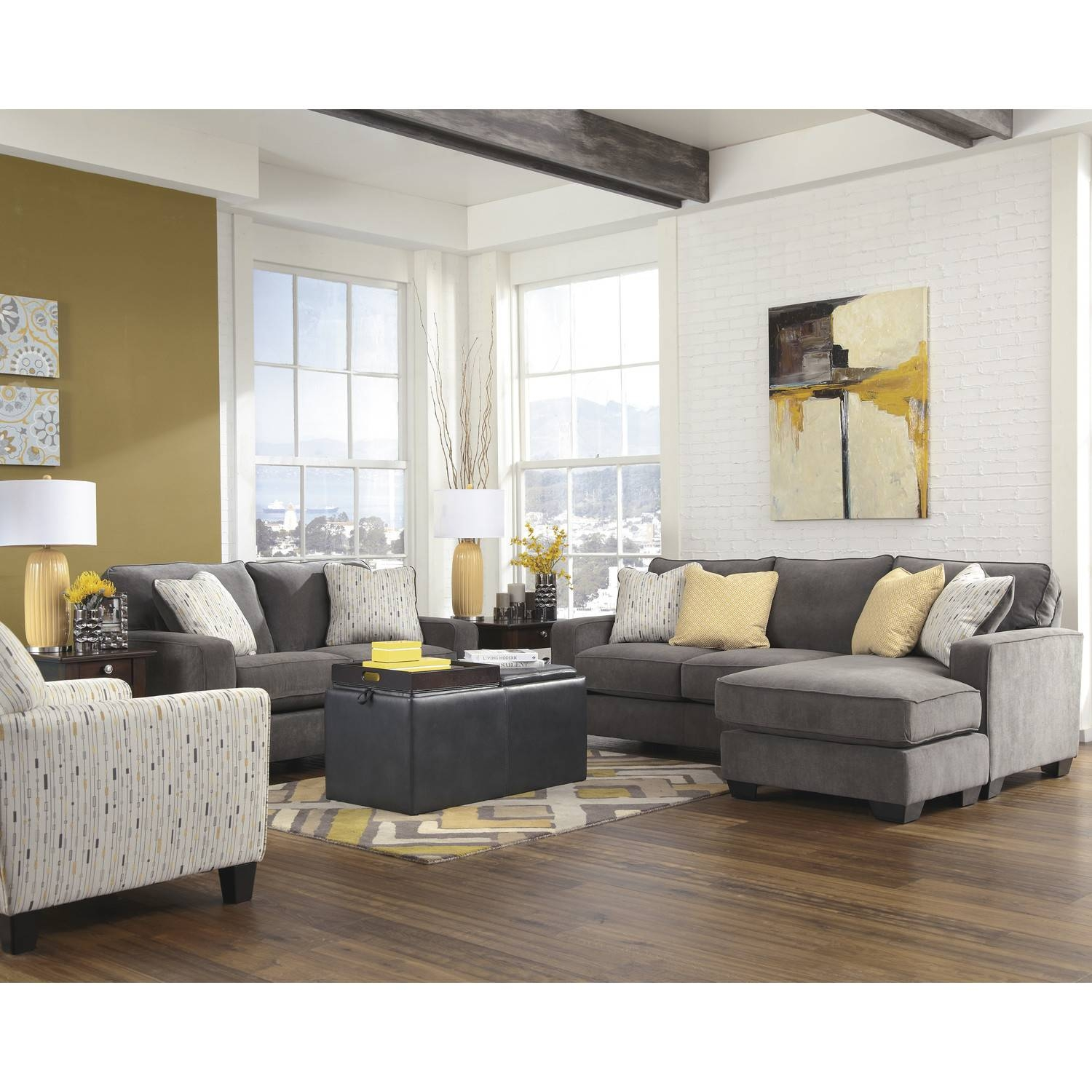 Sofas Center : Charcoal Gray Sectional Sofa Withhaise Lounge with Charcoal Grey Sofas (Image 20 of 30)